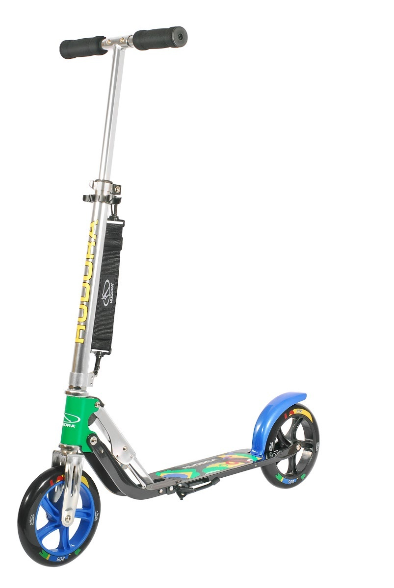 Самокат HUDORA Big Wheel 205 Brazil (14014)