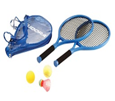 Набор для тенниса и бадминтона HUDORA Tennis set junior (75004)