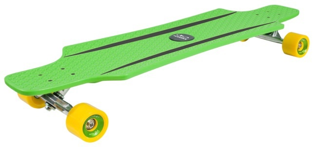 Лонгборд HUDORA Longboard CruiseStar green - yellow (12812)