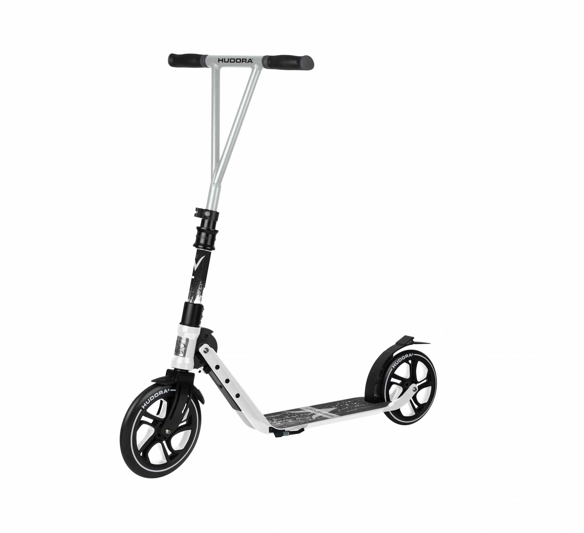 Самокат HUDORA Big Wheel Generation V 230 White (14116)