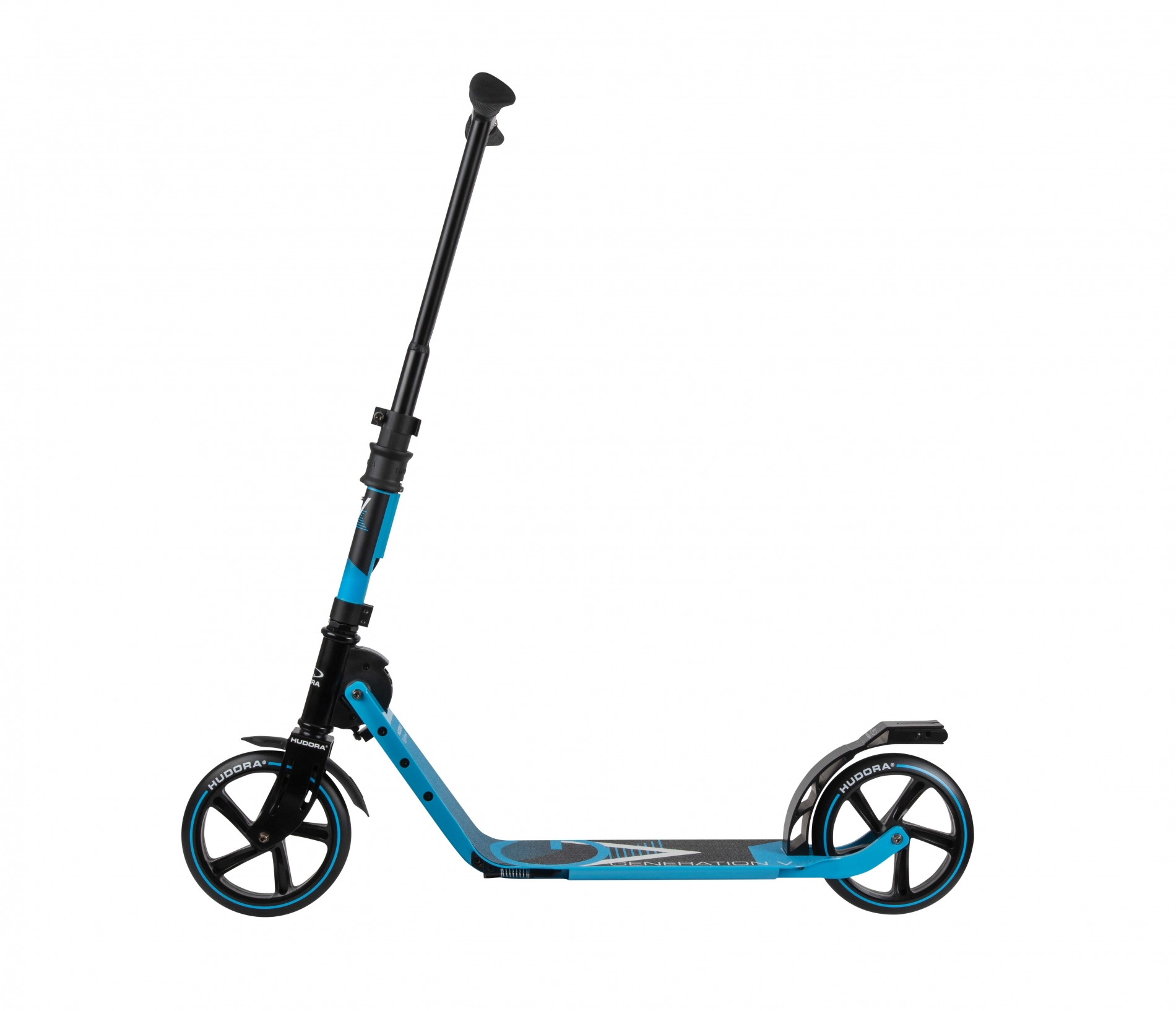 Самокат HUDORA Big Wheel Generation V 230 Blue (14114)