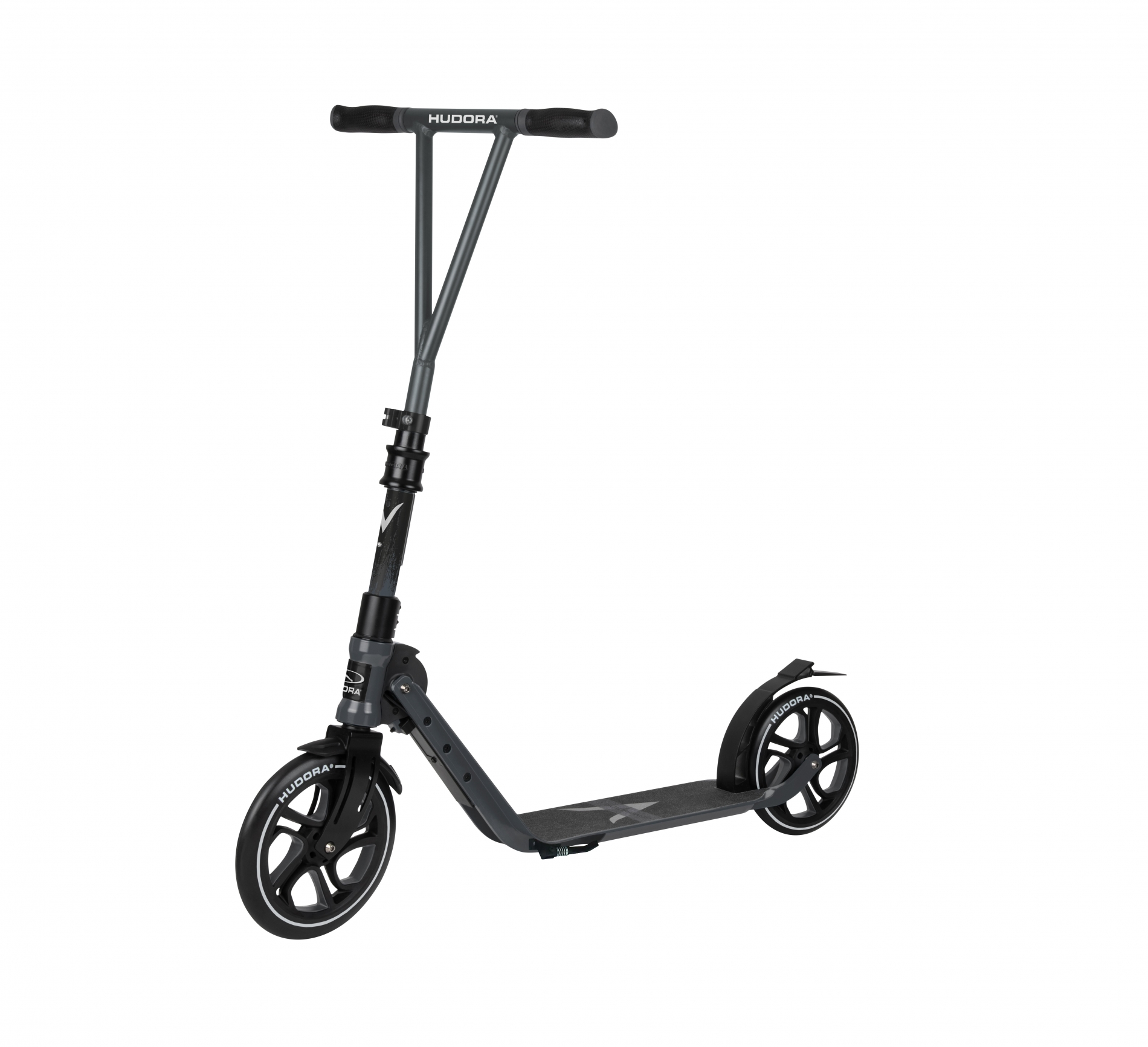 Самокат HUDORA Big Wheel Generation V 230 Black (14117)