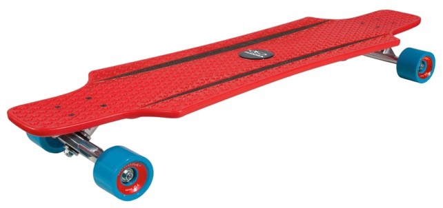 Лонгборд HUDORA Longboard CruiseStar red - blue (12813)