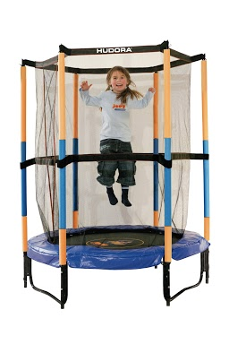Батут HUDORA Safety trampoline Jump in 3.0, 140 cm Ø (65596)