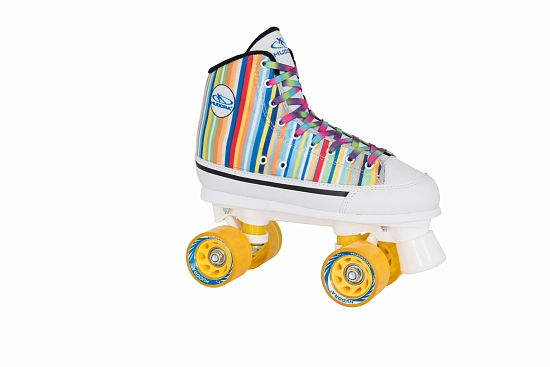 Ролики HUDORA Roller Skates Candy Stripes, 39 (13053)