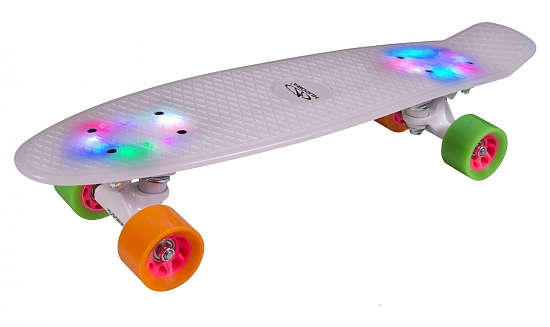 Скейтборд Hudora Skateboard Retro Rainglow (12134)