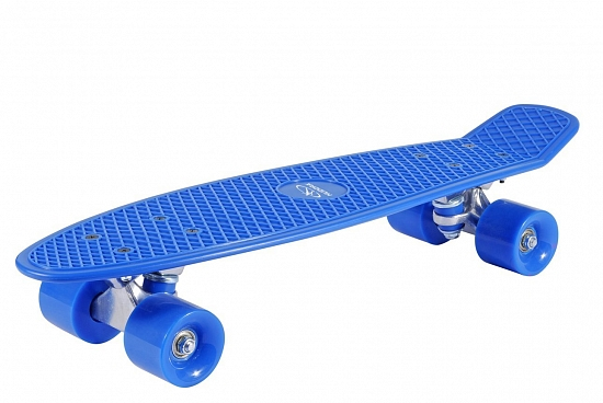 Скейтборд Hudora Skateboard Retro sky blue (12137)
