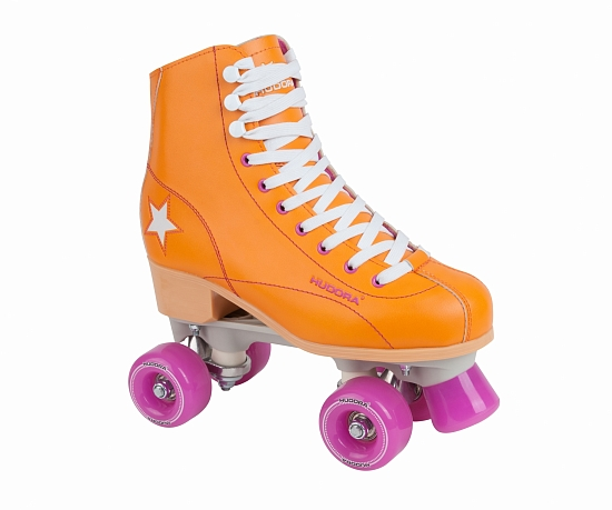 Ролики HUDORA Rollschuh Roller Disco orange, 39 (13204)