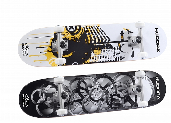 Скейтборд HUDORA Skateboard Freak ABEC 5 (12545)