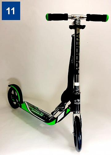 Самокат HUDORA Big Wheel RX-Pro 205 green 14708/01d (дисконт)