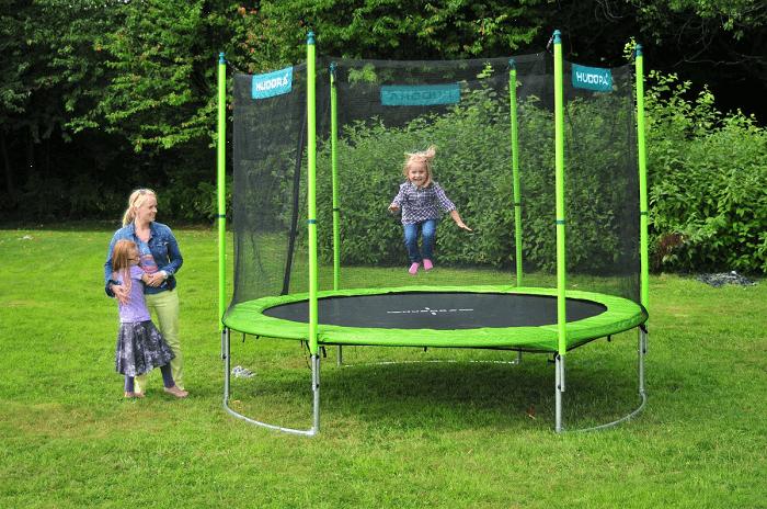 hudora family trampoline 300. Black Bedroom Furniture Sets. Home Design Ideas