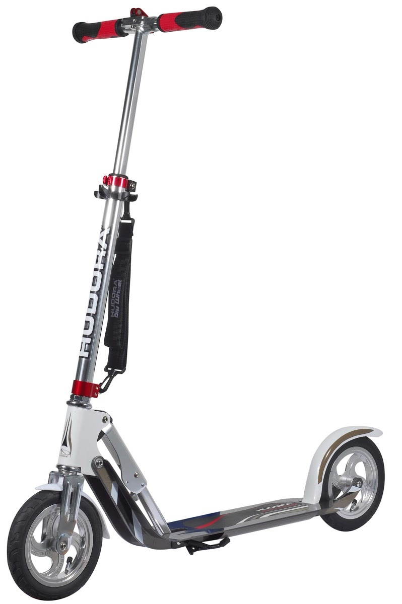Самокат HUDORA Big Wheel AIR 205 White (14005)