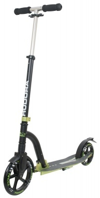 Самокат HUDORA Big Wheel Bold Cushion green - black (14242)