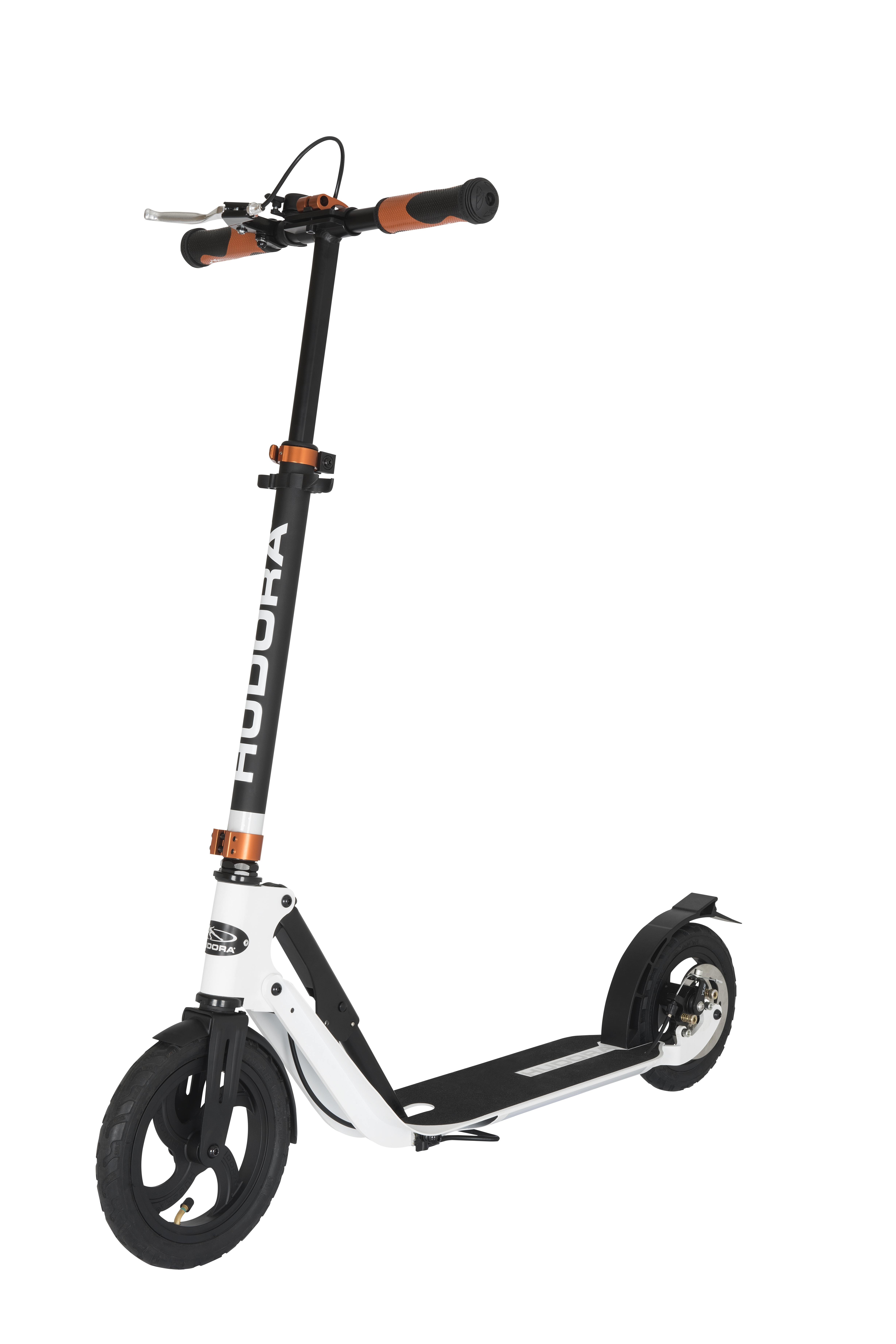 Самокат HUDORA BigWheel Air 230 Dual Brake (14035)