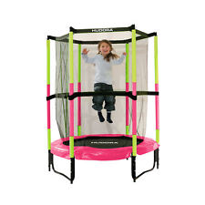 Батут HUDORA Safety trampoline Jump in 3.0, 140 cm Ø, PINK (65609)