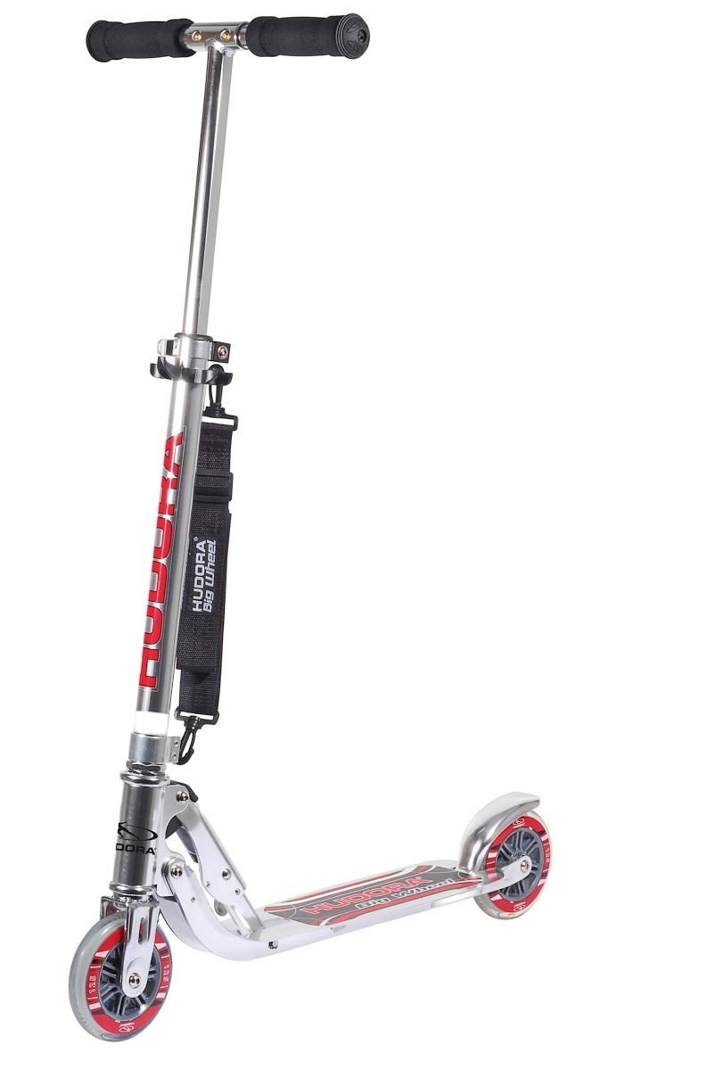 Самокат HUDORA Big Wheel 125 silver (14200)