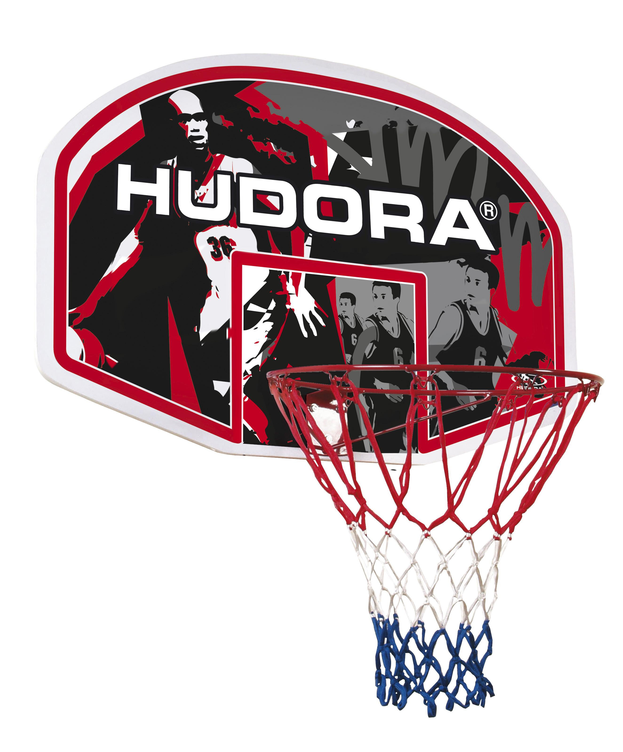 Набор для баскетбола HUDORA Basketballkorbset In-/Outdoor (71621)