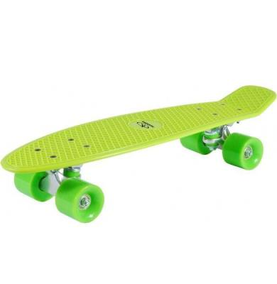Скейтборд Hudora Skateboard Retro lemon green (12136)